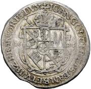 ¼ Thaler - Johann Gottfried von Aschhausen (Posthumus) – obverse