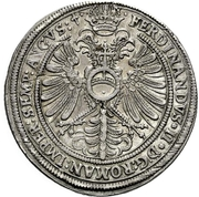 1 Thaler - Philipp Adolph von Ehrenberg – reverse