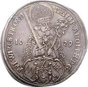 1 Thaler - Philipp Adolf von Ehrenberg – obverse