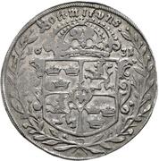 1 Thaler - Gustav Adolph II. – reverse