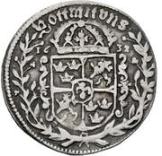 ¼ Thaler - Gustav Adolph II. – reverse