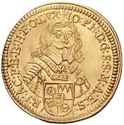 1 Ducat - Johann Philipp von Schönborn – obverse