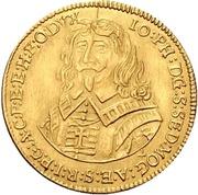 2 Ducat - Johann Philipp von Schönborn – obverse