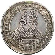 1 Thaler - Johann Philipp von Schönborn – obverse