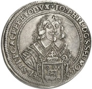 1 Taler - Johann Philipp von Schönborn (Zwittertaler) – obverse