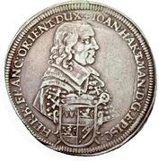 1 Thaler - Johann Hartmann von Rosenbach – obverse