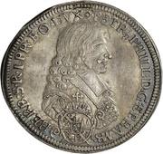 1 Thaler - Peter Philipp von Dernbach – obverse