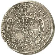 3 Kreuzer - Peter Philipp von Dernbach (Death) – obverse