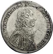 1 Thaler - Johann Gottfried II. von Guttenberg – obverse