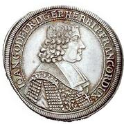 ¼ Thaler - Johann Gottfried II von Guttenberg – obverse