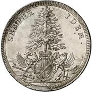 1 Thaler - Johann Philipp von Greiffenklau zu Vollraths – reverse