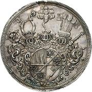 1 Thaler - Johann Philipp von Greiffenclau zu Vollraths – reverse