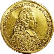 1 Ducat - Johann Philipp von Greiffenclau zu Vollraths – obverse