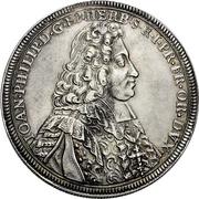 1 Thaler - Johann Philipp von Greiffenclau zu Vollraths – obverse