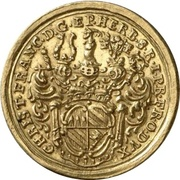 1 Ducat - Christoph Franz von Hutten – obverse