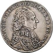 15 Kreuzer - Christoph Franz von Hutten – obverse