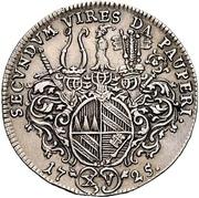 15 Kreuzer - Christoph Franz von Hutten – reverse