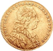 1 Ducat - Friedrich Karl von Schönborn – obverse
