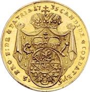 5 Gulden - Friedrich Karl von Schönborn – reverse
