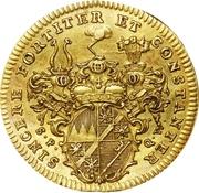 1 Goldgulden - Karl Philipp von Greiffenklau-Vollraths – reverse