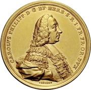 10 Ducat - Karl Philipp von Greiffenklau-Vollraths (Consecration as Prince-Bishop) – obverse