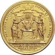 10 Ducat - Karl Philipp von Greiffenklau-Vollraths (Consecration as Prince-Bishop) – reverse