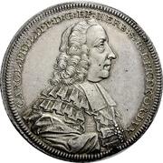 1 Thaler - Karl Philipp von Greiffenklau-Vollraths (Konventionstaler) – obverse