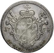 1 Thaler - Karl Philipp von Greiffenklau-Vollraths (Konventionstaler) – reverse