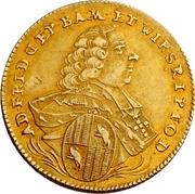 1 Goldgulden - Adam Friedrich von Seinsheim (Peace) – obverse