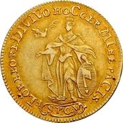 1 Goldgulden - Adam Friedrich von Seinsheim (Peace) – reverse