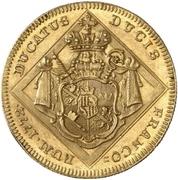 1 Ducat - Adam Friedrich von Seinsheim – reverse