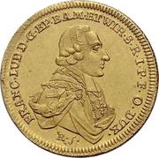 1 Ducat - Franz Ludwig von Erthal – obverse