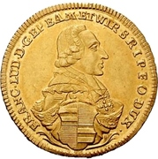 1 Goldgulden - Franz Ludwig von Erthal – obverse