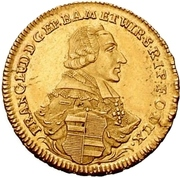 2 Goldgulden - Franz Ludwig von Erthal – obverse