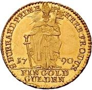 1 Goldgulden - Franz Ludwig von Erthal – reverse