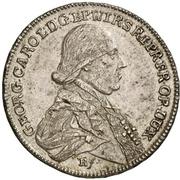20 Kreuzer - Georg Karl von Fechenbach (Konventionskreuzer) – obverse