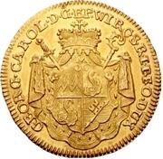 1 Goldgulden - Georg Karl von Fechenbach – obverse
