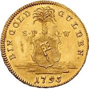 1 Goldgulden - Georg Karl von Fechenbach – reverse