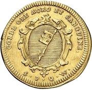 1 Goldgulden - Friedrich Karl von Schönborn – reverse