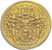 1 Goldgulden - Anselm Franz von Ingelheim – obverse