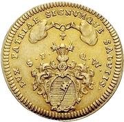 1 Goldgulden - Anselm Franz von Ingelheim – reverse