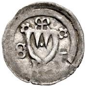 1 Pfennig - Gerhard von Schwarzburg – obverse