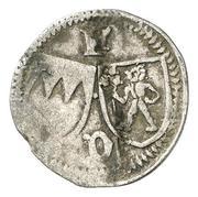 1 Pfennig -  Johann III. von Grumbach – obverse