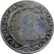 20 Kreuzer - Adam Friedrich von Seinsheim (Konventionskreuzer) – obverse