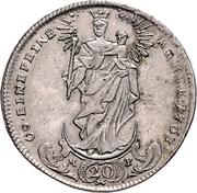 20 Kreuzer - Adam Friedrich von Seinsheim (Konventionskreuzer) – reverse
