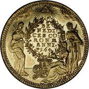 1 Goldgulden - Adam Friedrich von Seinsheim – reverse