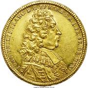 2 Ducat - Johann Philipp Franz von Schönborn – obverse