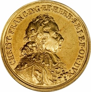 2 Ducat - Christoph Franz (Trade coinage) – obverse
