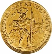 2 Ducat - Christoph Franz (Trade coinage) – reverse