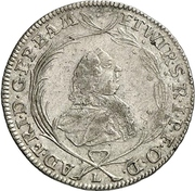 10 Kreuzer - Adam Friedrich von Seinsheim – obverse